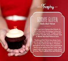 trophy cupcakes now offering gluten free red velvet cupcakes u2014 cakespy
