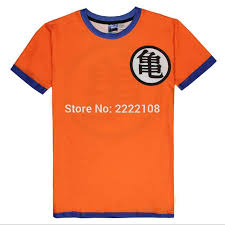 Goku Halloween Costumes 2016 Men U0027s Shirt Anime Dragon Ball Halloween Costume Son