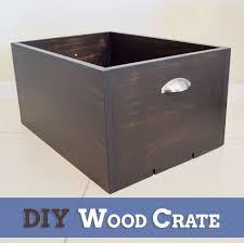 diy wood crate hometalk