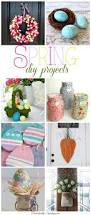 Diy Spring Projects by 8 Spring Diy Projects Friday Features Domestically Speaking