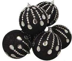 black tree ornaments pictures reference
