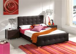 Black Leather Bedroom Furniture by Lovely High End Bedroom Furniture With White Leather Bed And Black