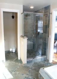 semi frameless shower door spaces with semi frameless shower door
