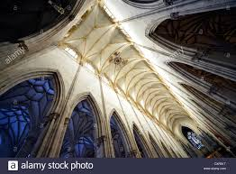contrast vaulted ceilings ceiling view church nave interior