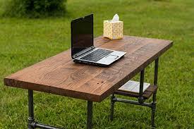 Diy Reclaimed Wood Desk Reclaimed Wood Desk Table Rustic Solid Oak W