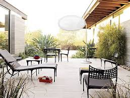 Outside Patio Furniture by High End Patio Furniture Options For Spring
