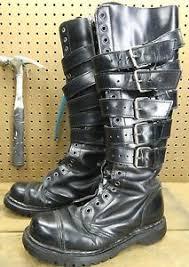s boots 20 demonia gravel 20 knee high steel toe boots est us 7
