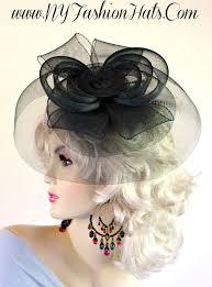 funeral hat women s black white black cocktail hat funeral fascinator church hats