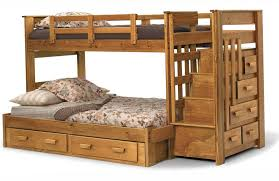 free bunk bed plans with storage woodworking diy plans