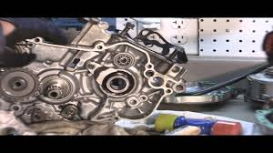 yz125 tear down part 6 removing 2 stroke crank youtube