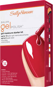 salon gel polish starter kit sally hansen