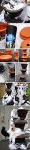 Cheap Outdoor Halloween Decorations by 1000 Ideas About Outdoor Halloween Decorations On Pinterest 12