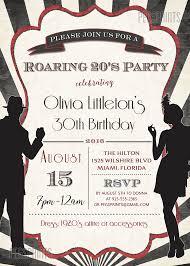 printable roaring 20s invitation roaring 20s birthday