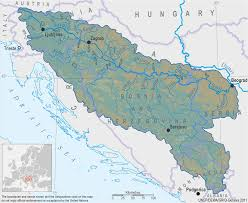 River Map Of Europe by Transboundary Surface Water Bodies U2014 Twrm Med