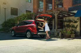 Ford Escape Trunk Space - 2017 ford escape suv technology features to make life on the