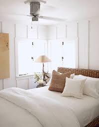 seagrass headboard cottage bedroom