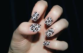 super cute cheetah nail designs you can try at home the home design