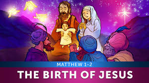 sunday lesson for kids the birth of jesus matthew 1 2