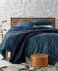 comforters macy s lauren ralph lauren blackwatch yarn dyed plaid bedding collection