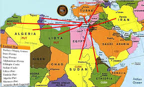 Map Of Syria And Israel by August 12 2016 Israel U0027s Virtual Security Zone End Times