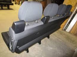 Sprinter Bench Seat 14 16 Mercedes Benz Sprinter Van 4 Passenger Black Cloth Rear