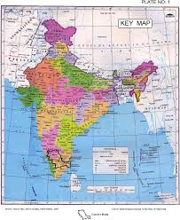 Map Of Indian States by Ministry Of Water Resources Government Of India