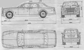 blue print size tutorials3d com blueprints rolls royce phantom ii