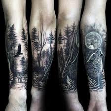 30 eye catching nature sleeve tattoos amazing ideas