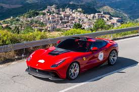 retro ferrari ferrari f12 trs is a raucous retro roadster w video