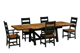 shaker style dining table shaker style dining chairs solid wood dinette sets large size of