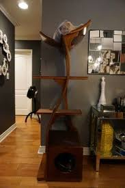 Modern Cat Trees Furniture by Lotus Cat Tree Sleek And Modern Cat Furniture Catcondo
