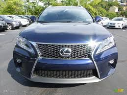 lexus rx 350 f sport 2013 2013 deep sea blue mica lexus rx 350 f sport awd 71194059 photo