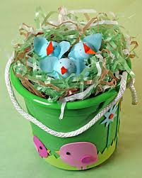 easter basket grass easter grass martha stewart