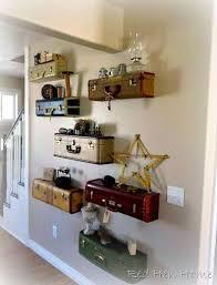vintage on the shelf diy vintage suitcase projects hen vintage suitcases and suitcase