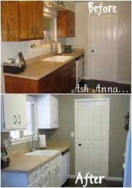 Nuvo Cabinet Paint Reviews by Kitchen Cabinet Refinishing Kit Crazy 5 Painted Our Cabinets Using