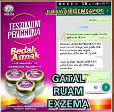 Bedak Gatal rawatan ekzema www farracare farra care