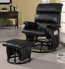 rocker glider recliner with ottoman foter