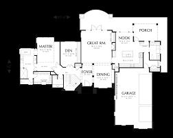 hillside floor plans mascord house plan 1318 the landgren