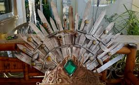 Chair Game Of Thrones Diy Game Of Thrones Iron Throne Lannister Crown Youtube