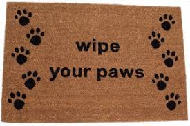 Wipe Your Paws Dog Doormat The Best Gifts For Dog Lovers 2017 Books Travel Gear U0026 More