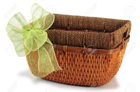 empty gift baskets empty basket stock photo picture and royalty free image image