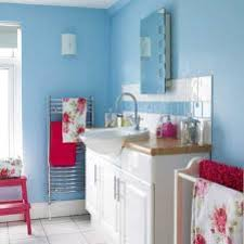 Red White And Blue Bathroom Decor - baby blue and red color scheme my house is most like this blue