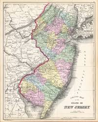 County Map Of Nj New Jersey State Maps Page 3
