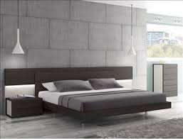 attractive king size platform bed with headboard maia wenge