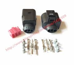 aliexpress com buy 10 sets 3 pin 1j0973803 1j0973703 female and