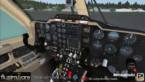 flysimware mitsubishi mu 2b 60 for fsx and p3d flightsim pilot