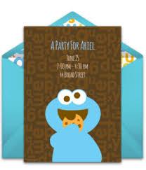 free sesame street invitations punchbowl