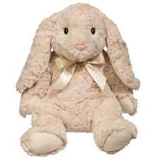 stuffed bunny ollie oatmeal lop bunny medium douglas toys