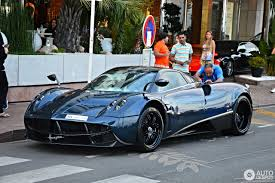 blue pagani pagani huayra 3 august 2016 autogespot