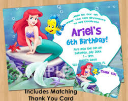 mermaid treat bag label printable princess ariel